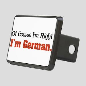 Im German Rectangular Hitch Cover