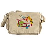 Bone apArt Messenger Bag