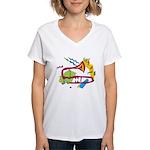 Bone apArt Women's V-Neck T-Shirt