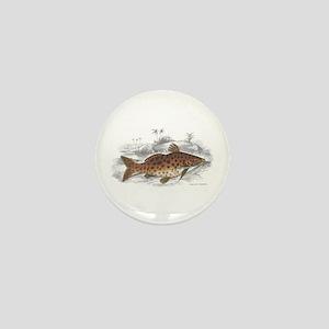 Catfish Fish Mini Button