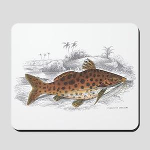 Catfish Fish Mousepad