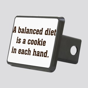 a balanced diet Rectangular Hitch Cover