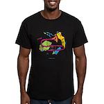 Bone apArt Men's Fitted T-Shirt (dark)