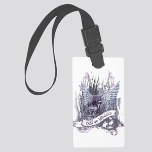 Hell on Wheels Large Luggage Tag