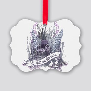 Hell on Wheels Picture Ornament