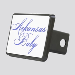 Arkansas baby blue Rectangular Hitch Cover