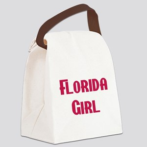Florida girl Canvas Lunch Bag