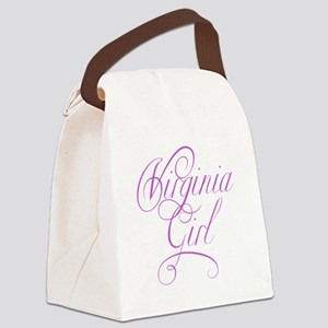 virginia girl Canvas Lunch Bag