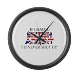 British humor Giant Clocks