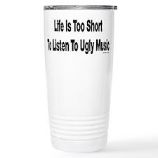 Ugly Music Stainless Steel Travel Mug