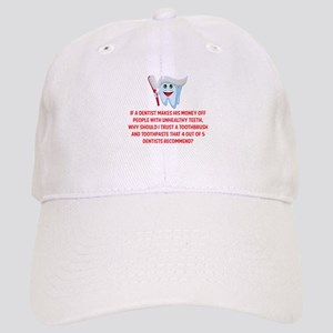 Funny Dentist Recommend Cap