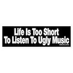 Ugly Music Sticker (Bumper)