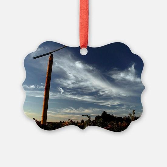 Vineyard Fan Ornament