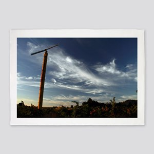 Vineyard Fan 5'x7'Area Rug
