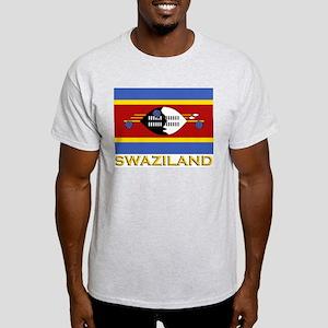 Swaziland Flag Gear Ash Grey T-Shirt