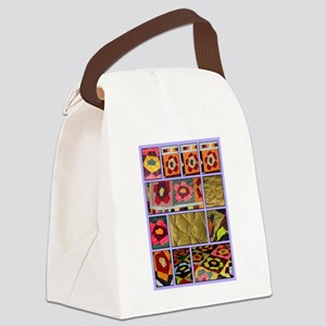 Sandis Wedding Quilt Canvas Lunch Bag
