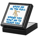 Show Me On The Doll Keepsake Box