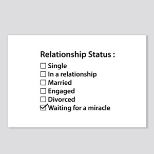 Relationship Status Postcards (Package of 8)