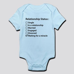 Relationship Status Infant Bodysuit