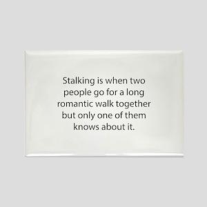 Stalking Rectangle Magnet
