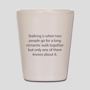 Stalking Shot Glass