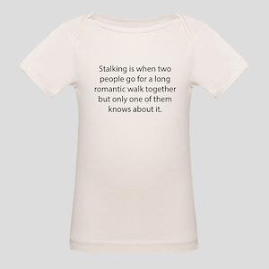 Stalking Organic Baby T-Shirt