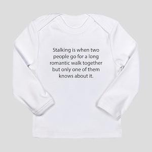 Stalking Long Sleeve Infant T-Shirt