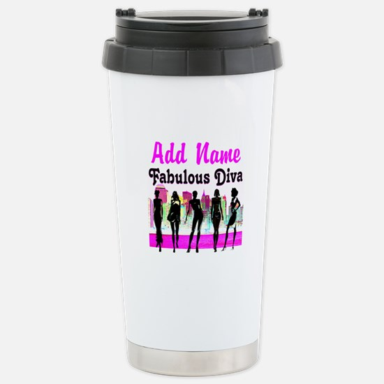 FABULOUS DIVA Stainless Steel Travel Mug