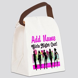 GIRLS NIGHT OUT Canvas Lunch Bag
