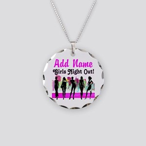 GIRLS NIGHT OUT Necklace Circle Charm