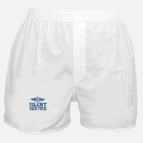 Silent Service with Submarine Dolphins Boxer Short
