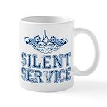 Silent Service with Submarine Dolphins Mug