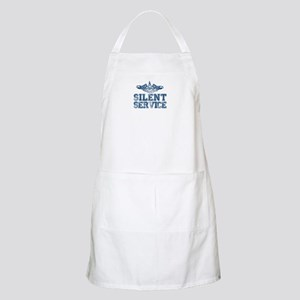 Silent Service with Submarine Dolphins Apron