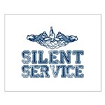 Silent Service with Submarine Dolphins Small Poste