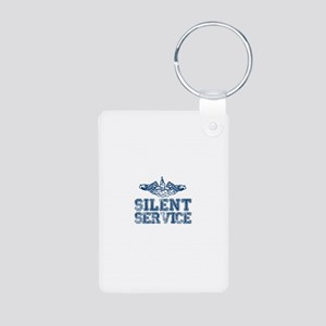 Silent Service with Submarine Dolphins Aluminum Ph