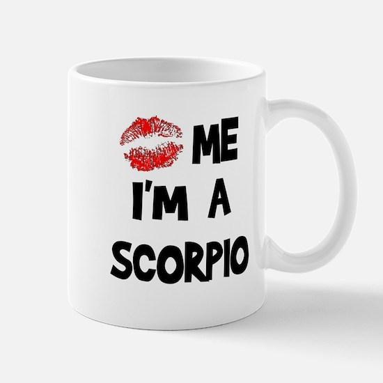 Kiss Me I'm a Scorpio  Mug