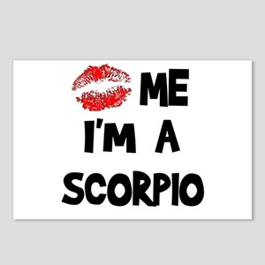Kiss Me I'm a Scorpio  Postcards (Package of 8)
