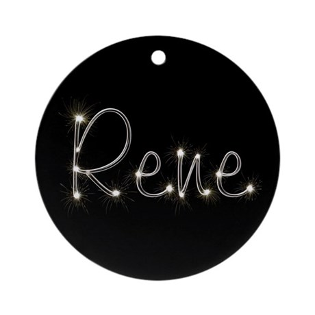 Rene Spark Ornament (Round)