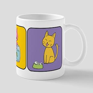 Kitten Squares Mug