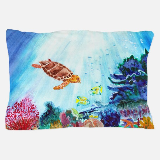 Coral Reef Pillow Case