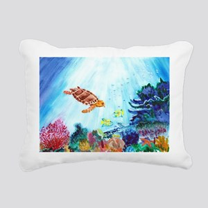 Coral Reef Rectangular Canvas Pillow