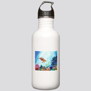 Coral Reef Stainless Water Bottle 1.0L
