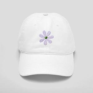 Purple Daisy Cap