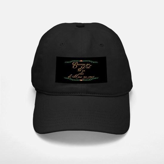 Psalm 16 1 Green Vines Baseball Hat