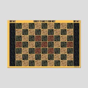 King's Mate Game Board in Yellow