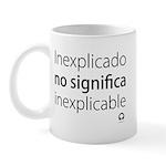 Taza Inexplicable