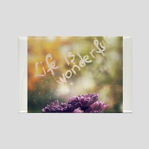 L(i)ve your life ! Rectangle Magnet