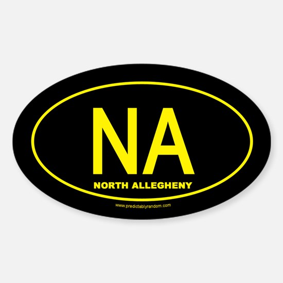 North Allegheny Oval Decal