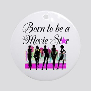 MOVIE STAR Ornament (Round)