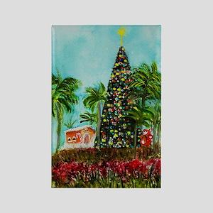 100 ft Christmas Tree Rectangle Magnet